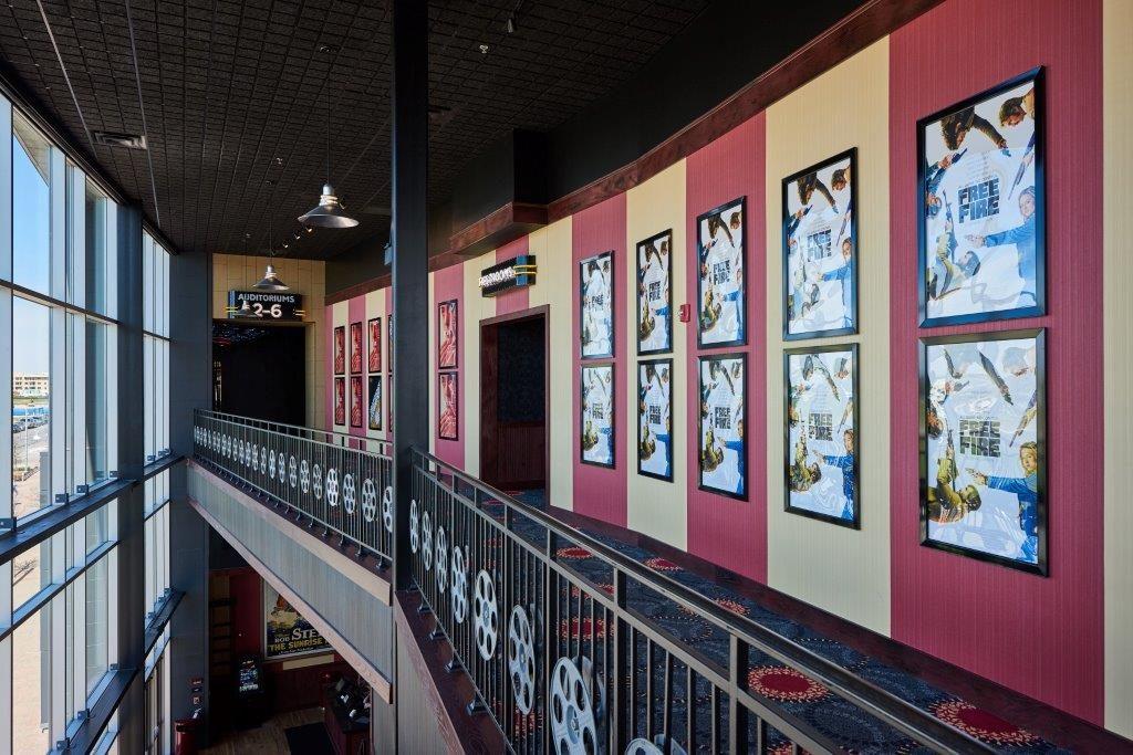 Alamo Drafthouse Mueller Gallery Mezzanine