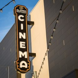 The Alamo Drafthouse Mueller location in Austin, Texas.
