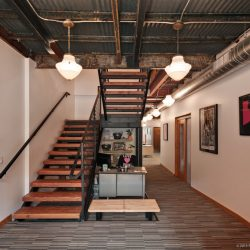 Alamo Drafthouse Office located at 612-A East 6th Street designed by Weiss Architects